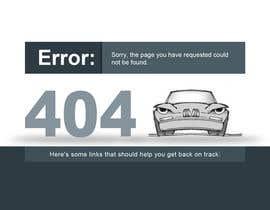#33 cho Custom 404 page design bởi DezineGeek