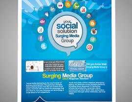 #10 para Design a Flyer for Surging Media Group por abdelaalitou