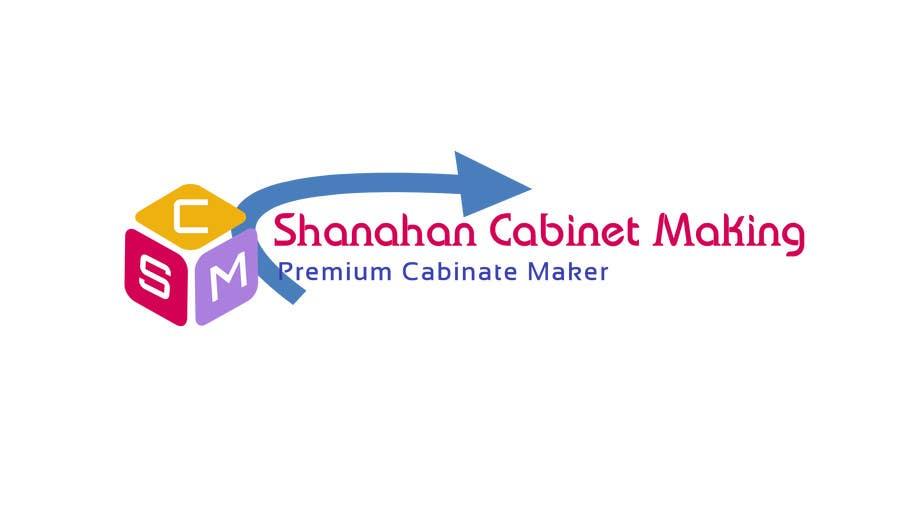 Penyertaan Peraduan #5 untuk Design a Logo for Shanahan Cabinet Making