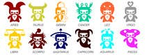 Contest Entry #16 for Horoscope signs vector illustration needed