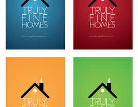 #14 para Design a Logo for Truly Fine Homes por elcnozdmr