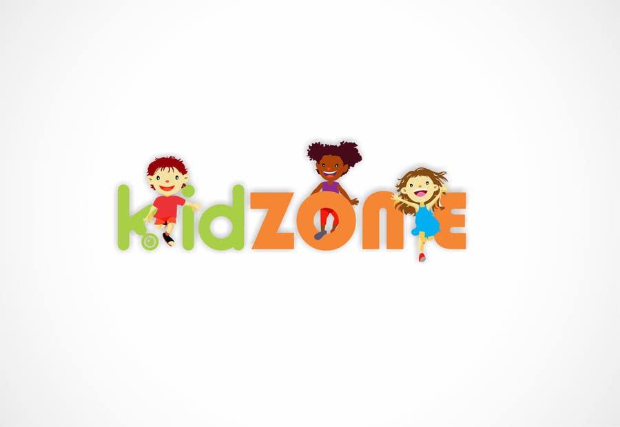 Entry #4 by Eve17 for kidZone Logo Design -- 2 | Freelancer