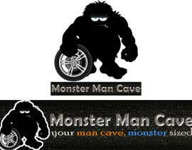 #16 for Design a Logo and Banner for MonsterManCave.com by TemplateDigitale