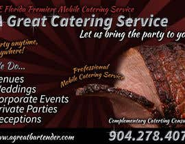 #36 para Design a Flyer for Catering and a Bartending Business - Future Work Needed Also por davidgraeme