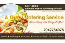 Graphic Design Inscrição do Concurso Nº12 para Design a Flyer for Catering and a Bartending Business - Future Work Needed Also