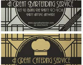 #67 para Design a Flyer for Catering and a Bartending Business - Future Work Needed Also por MrOddity