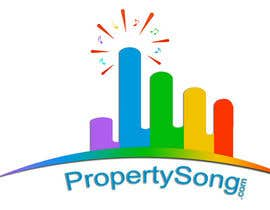 #470 for Logo Design for PropertySong.com or MyPropertySong.com af dilanaruna