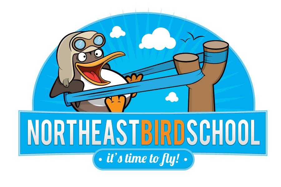 Inscrição nº                                         38                                      do Concurso para                                         Logo Design for Northeast Bird School