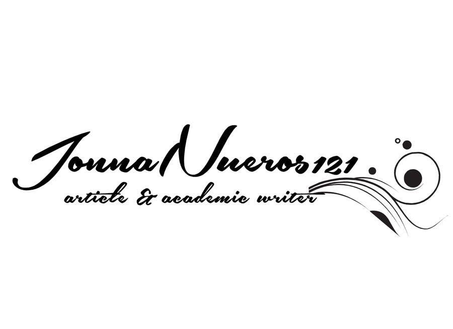 Inscrição nº 20 do Concurso para Design a Logo for JonnaNueros121