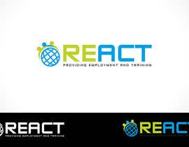 #193 for Design en logo for REACT by Cbox9