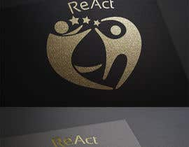 #190 para Design en logo for REACT por developingtech