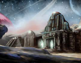 #1 for Illustrate Something for Online Sci Fi Video Game - Alien Ruins by Pasztel
