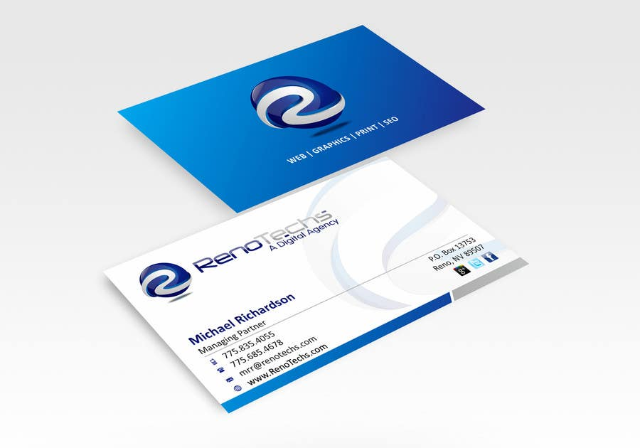 Bài tham dự cuộc thi #                                        19                                      cho                                         Design some Business Cards for BUSINESS CARD FOR NEW ONLINE MARKETING AGENCY