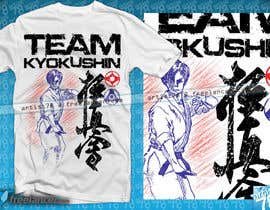 #48 for Design a T-Shirt for karate organization by artist78