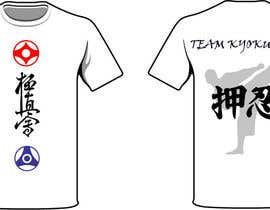 #43 untuk Design a T-Shirt for karate organization oleh freehon
