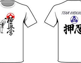 #44 untuk Design a T-Shirt for karate organization oleh freehon