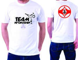 #75 cho Design a T-Shirt for karate organization bởi saadjee25
