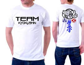 #34 for Design a T-Shirt for karate organization by mckirbz