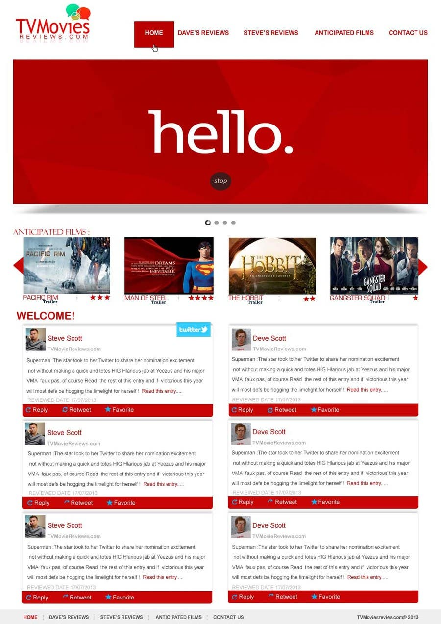 #52 for Single Page WebSite Template by iffal