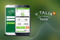 "Contest Entry #122 for Design for mobile app ""Vitalia tracker"" (design only)"