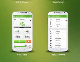 "#150 para Design for mobile app ""Vitalia tracker"" (design only) por JustLogoz"