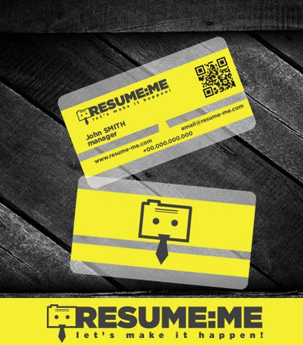 #65 for Logo and Business Card for Resume:Me by teoiorga
