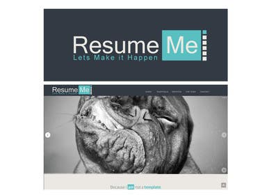 #42 for Logo and Business Card for Resume:Me by RocketFlock