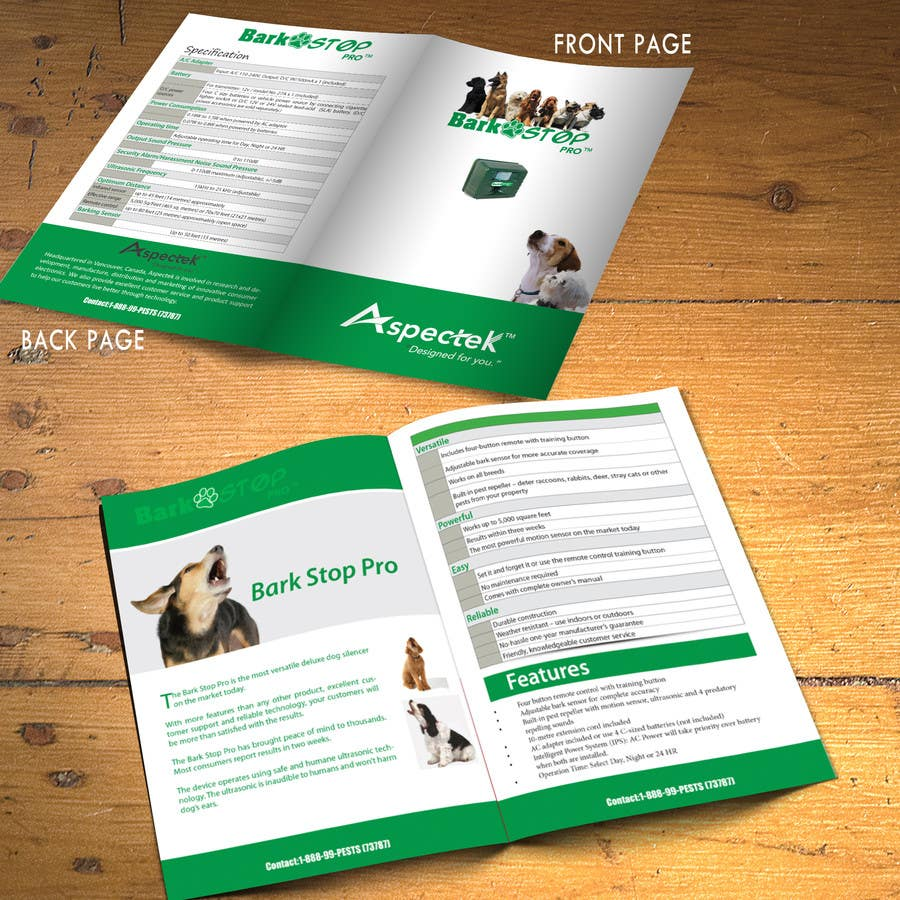 #7 for Product Brochure by xtreemsteel