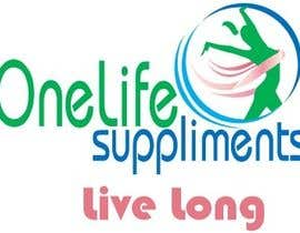 #11 cho Design a Logo for a custom supplement brand: OneLife Supplements- TagLine Live Long bởi sarwarnawzad