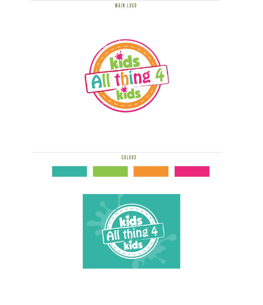 #43 for Design a Logo for Children products by basemamer