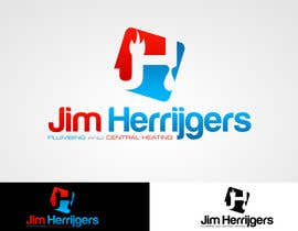 #58 para Logo Design for Jim Herrijgers de MladenDjukic