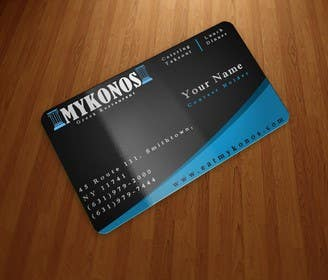 Graphic Design Contest Entry #12 for Design some Business Cards for Mykonos Greek Restaurant