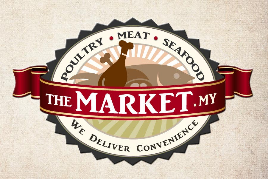 #58 for Re-design a Logo for Online Meat, Seafood, Poultry & Gourmet Food Company (Future Work Guaranteed) by debbypeetam