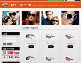 dilip08kmar tarafından Design a Website Mockup for Eyeglass website için no 11