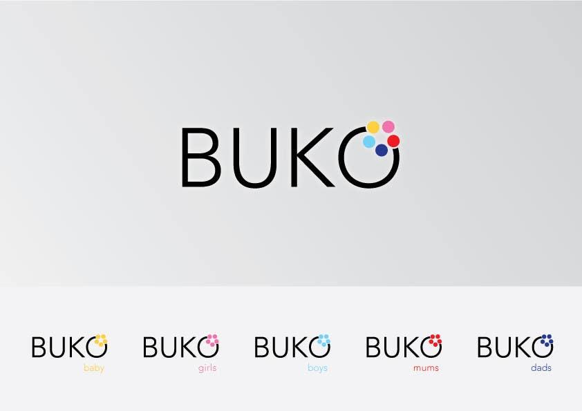 Penyertaan Peraduan #52 untuk Design a Logo for buko