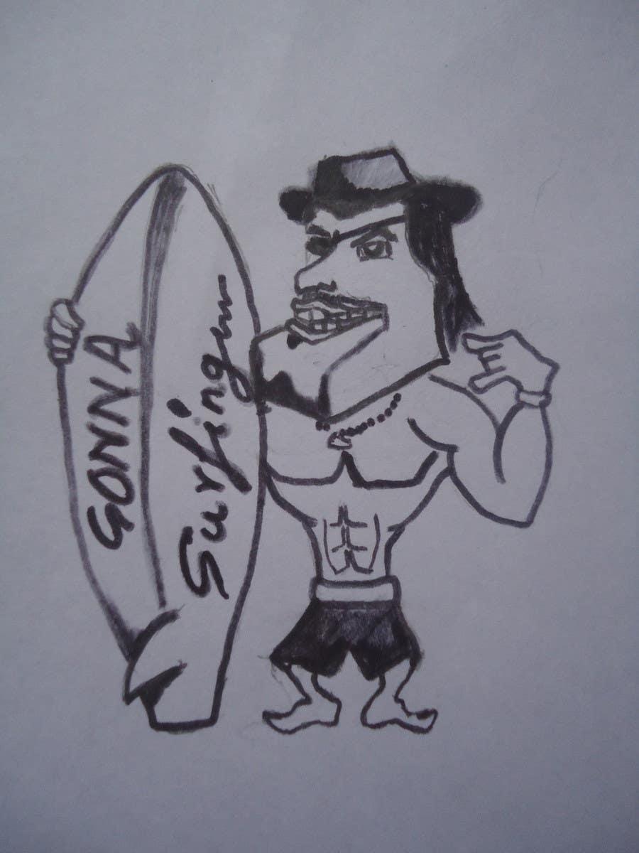 #11 for SURFER + BEACH = 2 DESIGN (male/female) FOR T-SHIRTS by adityarane94