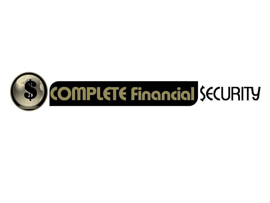 Kilpailutyö #559 kilpailussa Logo Design for Complete Financial Security