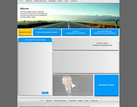 #19 for Design a Microsite by Khanggraphic