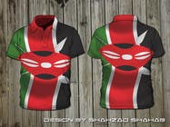 Contest Entry #14 for t-shirt design based on the theme of Kenyan flag