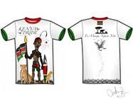 Entry # 27 for t-shirt design based on the theme of Kenyan flag by