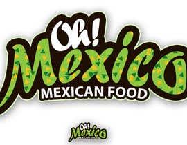 nº 184 pour Mexican Restaurant Logo par rogeliobello