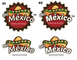 #39 untuk Mexican Restaurant Logo oleh FernandoJAM