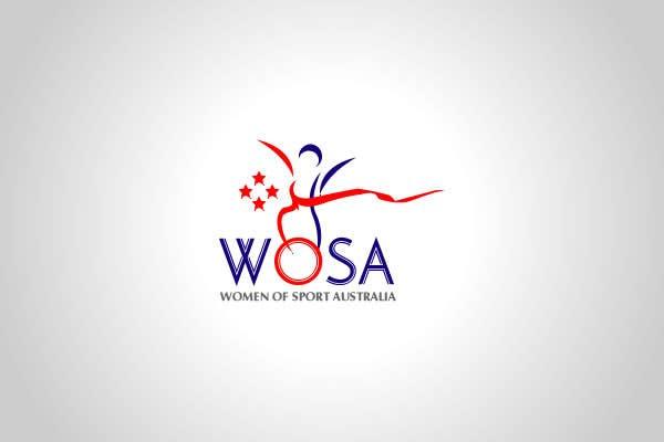 #24 for Design a Logo for WOSA - Women Of Sport Australia by ZenithTechnoSol