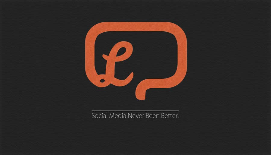#162 for LOGO for a NEW Social Network by dzengineer