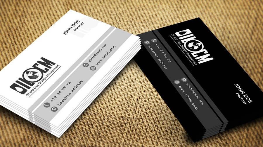 Penyertaan Peraduan #44 untuk Redesign Business Cards