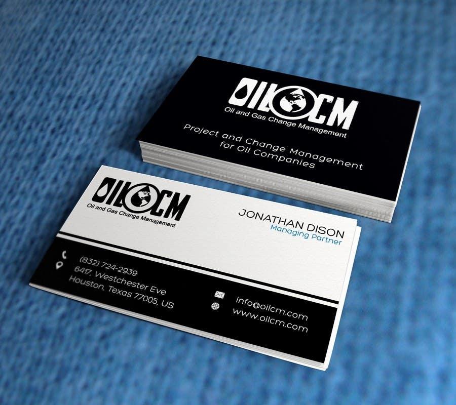 Penyertaan Peraduan #43 untuk Redesign Business Cards