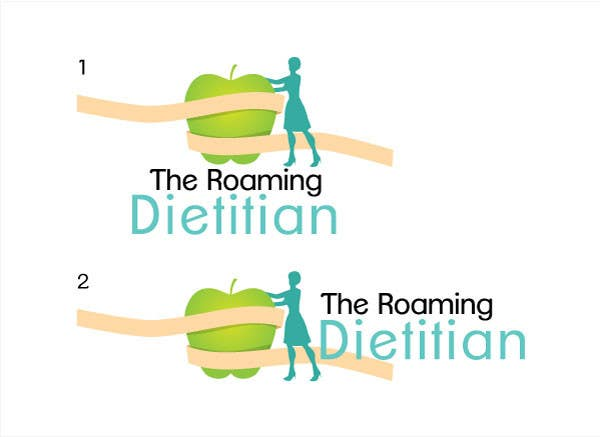 Konkurrenceindlæg #172 for Logo Design for A consulting and private practice business called 'The Roaming Dietitian'