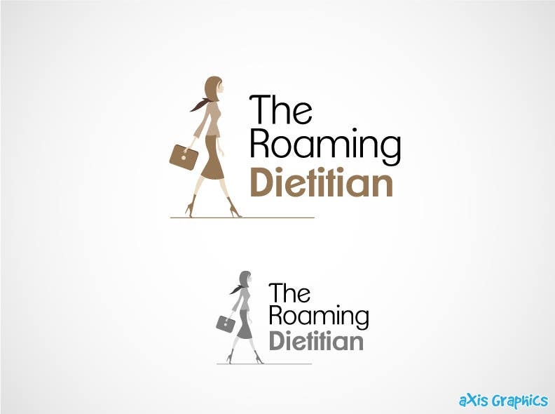 Konkurrenceindlæg #204 for Logo Design for A consulting and private practice business called 'The Roaming Dietitian'