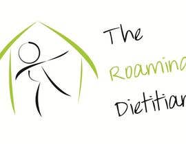 #219 pentru Logo Design for A consulting and private practice business called 'The Roaming Dietitian' de către ManaalJ