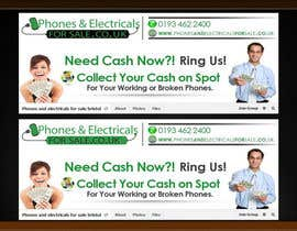 #7 cho Design a Banner for Phonesandelectricalsforsale.co.uk bởi OnpointJamie